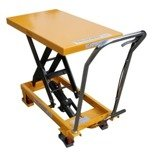 00546096 Wózek paletowy stołowy (udźwig: 300 kg, min./max. wysokość podestu: 285/880 mm)
