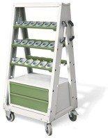 00853985 Wózek do opraw narzędziowych ISO, 36 gniazd (wymiary: 1424x782x620 mm)