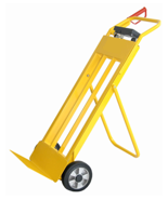 04049181 Wózek taczkowy z wagą bez legalizacji (udźwig: 150 kg, podziałka: 100 g)