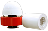 08549382 Wentylator promieniowy dachowy z wylotem poziomym WPA-6-D-1-N 230V (obroty synchroniczne: 3000 1/min, moc: 0,75 kW, wydajność wentylatora: 1700 m3/h)