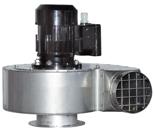 08549477 Wentylator przeciwwybuchowy promieniowy stanowiskowy WP-10-E/Ex (obroty synchroniczne: 3000 1/min, moc: 4 kW, wydajność wentylatora: 4250 m3/h)
