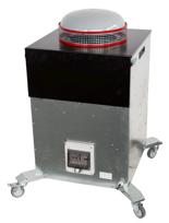 08549601 Urządzenie filtrowentylacyjne, wersja z recyrkulacją powietrza - do filtrowentylacji ogólnej RAK-2000-RC (moc: 2x160 W, wydajność: 2320 m3/h)