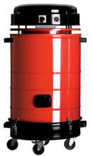 08549647 Urządzenie filtrowentylacyjne z turbiną ssącą, wersja z manualną regeneracją filtra RAPID VAC 200-S (pojemność zbiornika: 45 dm3, moc: 1,6 kW, wydajność: 225 m3/h)