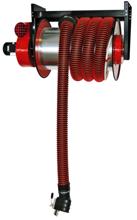 08549698 Odsysacz spalin, bęben odsysacza z napędem elektrycznym, przepustnicą, zestawem wężowym, zespołem elektrycznym - bez ssawki, wentylatora ALAN/P-U/E-12 (długość węża: 12m, średnica: 150mm)