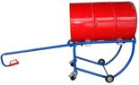 13340558 Wózek czterokołowy ręczny do przewozu stalowych beczek (nośność: 300 kg)