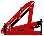 15246907 Żuraw dwuramienny Befard XF 1700A (udźwig: 580-1920 kg, zasięg: 2,0-6,3 m, ilość wysuwów hydraulicznych/ręcznych: 2/brak)