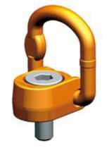 33948558 Śruba z uchem obrotowo-uchylnym PLAW 20t M48 (udźwig: 20 T, gwint: M48)