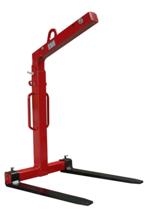 3398563 Zawiesie widłowe do podnoszenia palet KMI 2,0 (udźwig: 2 T, długość wideł: 1000 mm)