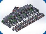 95247928 Agregat uprawowy U 382 składany hydraulicznie (szerokość robocza: 4,0 m, liczba zębów: 40, zapotrzebowanie mocy: 90 KM)