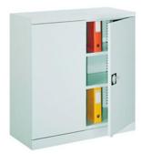99551651 Szafa biurowa 0,7mm, 2 drzwi, 2 półki (wymiary: 1040x1000x435 mm)