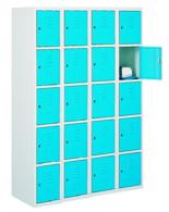 99552241 Szafka ze schowkami 0,6-0,8mm, 20 drzwi (wymiary: 1800x1200x490 mm)