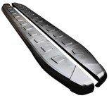 DOSTAWA GRATIS! 01655952 Stopnie boczne, czarne - Nissan Qashqai+2 2007-2013 (długość: 182 cm)