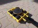 DOSTAWA GRATIS! 12267429 Wózek skrętny 6 rolkowy, rolki: 6x kompozyt (nośność: 7 T)