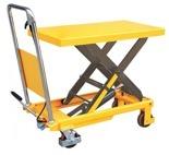 DOSTAWA GRATIS! 85068252 Stół podnośny nożycowy (udźwig: 500 kg, wymiary platformy: 855x500x50 mm, wysokość podnoszenia: 900 mm)