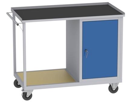 00142069 Wózek platformowy, 1 drzwi (wymiary: 890x1150x590 mm)