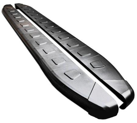 01655888 Stopnie boczne, czarne - Chevrolet Captiva (długość: 171 cm)