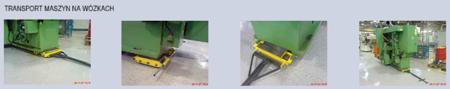 12235615 Zestaw wózków, rolki: 8x nylon (nośność: 8 T)