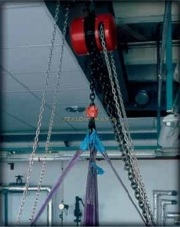2202698 Wciągnik łańcuchowy z przekładnią planetarną Z100/1.6t (wysokość podnoszenia: 5m, udźwig: 1,6 T)