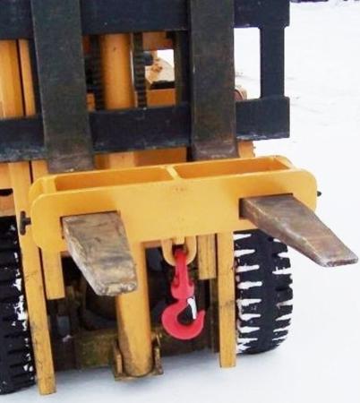 2903549 Uchwyt z hakiem (podwójny) (2000kg)