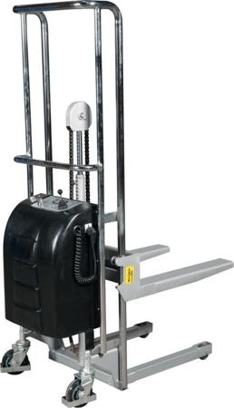 DOSTAWA GRATIS! 310501 Wózek podnośnikowy z wyciągarką elektryczny (udźwig: 400 kg)