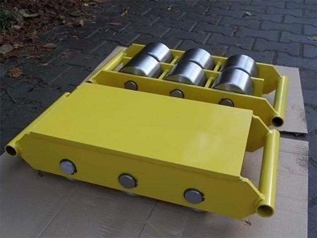 DOSTAWA GRATIS! 12235595 Wózek stały 6 rolkowy, rolki: 6x stal (nośność: 50 T)