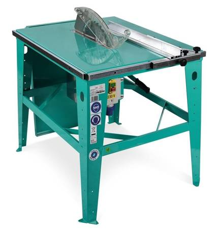 DOSTAWA GRATIS! 05668356 Piła stołowa do drewna (średnica tarczy: 315 mm, wysokość cięcia: 0-110 mm, silnik: 400V 3 kW)