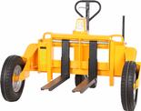 55873107 Wózek paletowy terenowy  (udźwig: 230 kg, długość wideł: 855mm) DOSTAWA GRATIS!