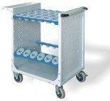 00853984 Wózek do opraw narzędziowych ISO, 36 gniazd (wymiary: 994x907x556 mm)