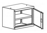 99551705 Nadstawka do szaf biurowych 1,0mm, 1 drzwi, 1 półka (wymiary: 465x600x435 mm)