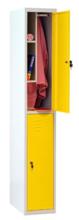99552328 Szafa szkolna z półką wewnątrz, 2 drzwi, wersja standard (wymiary: 1800x400x490 mm)