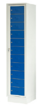 99552380 Szafa do przechowywania czystej i brudnej odzieży, 11 szuflad (wymiary: 1900x435x500 mm)