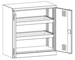 99552530 Szafa warsztatowa, 2 półki, 2 drzwi (wymiary: 1000x950x500 mm)