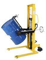 99724853 Wózek podnośnikowy ręczny do beczek GermanTech (udźwig: 350 kg)