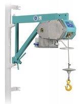 DOSTAWA GRATIS! 05668341 Wciągarka linowa budowlana z przedłużanym wysięgnikiem + kaseta sterownicza na kablu 1.5m (udźwig: 200 kg, wysokość podnoszenia: 30 m)
