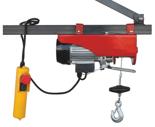 DOSTAWA GRATIS! 08126408 Wciągarka elektryczna linowa budowlana Minor M-100 (udźwig: 100/200 kg)