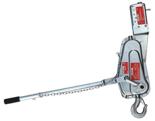DOSTAWA GRATIS! 08126657 Wciągarka linowa, rukcug z urządzeniem zabezpieczające wciągarkę (udźwig: 500 kg)
