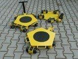 DOSTAWA GRATIS! 12258866 Wózek rotacyjny stały, rolki: 12x nylon (nośność: 4 T)