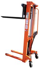 DOSTAWA GRATIS! 13362106 Wózek podnośnikowy masztowy z regulowanym rozstawem wideł (udźwig: 2000 kg, wysokość podnoszenia: 90-1600mm)