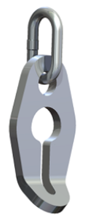 DOSTAWA GRATIS! 33954996 Skarcacz nierdzewny klasy VLWI 16 (udźwig: 6,3 T)