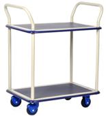 DOSTAWA GRATIS! 39955536 Wózek warsztatowy, 2 półki (wymiary: 740x480x1090mm)