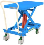 DOSTAWA GRATIS! 39955555 Wózek platformowy nierdzewny nożycowy ze sprężyną (wymiary platformy: 1191x520mm, udźwig: 600 kg, wysokość podnoszenia min/max: 393-813 mm)