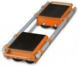 DOSTAWA GRATIS! 44340166 Podwójne rolki transportowe Unicraft (udźwig: 6 t)