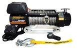DOSTAWA GRATIS! 44475433 Wyciągarka 12V z liną syntetyczną (uciąg: 5443 kg, średnica liny: 10mm, długość liny: 28m)