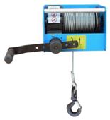 DOSTAWA GRATIS! 44929813 Ręczny wciągnik linowy z przekładnią ślimakową Tractel® CAROL™ TS500 (bez liny, udźwig: 500 kg)