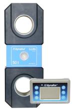 DOSTAWA GRATIS! 44929995 Precyzyjny dynamometr z wyświetlaczem do pomiaru sił rozciągających oraz ciężaru zawieszonych ładunków Tractel® Dynafor™ LLXH (udźwig: 25 T)
