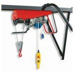 DOSTAWA GRATIS! 55547215 Wciągarka budowlana linowa elektryczna ze zdalnym sterowaniem (udźwig: 500 kg, długość liny: 25m)