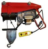 DOSTAWA GRATIS! 55564736 Wciągarka linowa budowlana elektryczna ze zdalnym sterowaniem (udźwig: 800 kg, długość liny: 25m)
