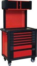 DOSTAWA GRATIS! 65669926 Wózek, szafka serwisowa z nadstawką, 7 szuflad (wymiary: 99,5x95x55 cm)