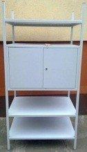 DOSTAWA GRATIS! 77156808 Regał metalowy, szafka, 3 półki (wymiary: 2000x900x600 mm)