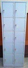DOSTAWA GRATIS! 77157122 Szafa skrytkowa, 10 drzwi (wymiary: 1800x600x400 mm)